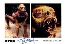Tim dry signed autógrafo 20x30cm xtro en persona Autograph coa Star Wars
