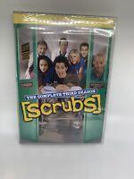 Scrubs - The Complete Third Season Season 3 (DVD, 2006, 3-Disc Set sealed new