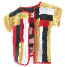 New Kss Handmade Unique Block Bright Toddler Sweater 2 Years/3T Sw-263 on Sale