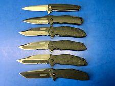 Lot of 6 Kershaw Folding Pocket Knives 1990 1310 1987 1835 Knife g36
