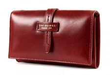 THE BRIDGE Florentin Ladie's Wallet Geldbörse Rosso Ribes Rot Neu