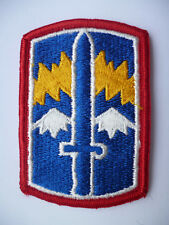 US ARMY 171ST INFANTRY BRIGADE PATCH.