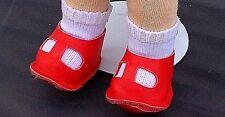 Käthe Kruse Chaussures de poupée Chaussures en cuir,rouge pour 25 cm