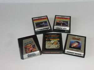 Atari 2600 6 Game Lot Demon Attack Amidar Cosmic Ark Journey Escape Cosmic Ark