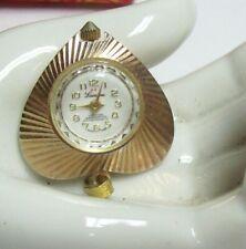 LUCERNE Vintage Heart Shaped Necklace Pendant Watch