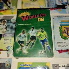 VINTAGE RARE WORLD CUP 06 PLAYING CARDS DECK NEW & COMPLETE ARGENTINA MESSI +