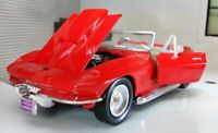 CHEVROLET CORVETTE CABRIO 1967 1:24 Scale Diecast Toy Car Model Die Cast Vintage
