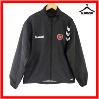 Heart of Midlothian Football Training Jacket Hummel M Medium Soccer Hearts Top