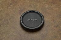 Nikon F Camera Body Cap MF F F1 F2 F3 FE FM FG FG-20 FA EL (#1579)