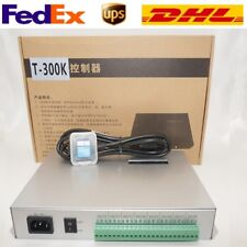 T300K led pixel controller RGB PC on line pixel full color Controller 8 ports+SD