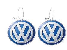 Volkswagon Car Logo Air Freshener Double Sided
