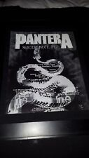 Pantera Suicide Note Part. 1 Rare Original Radio Promo Poster Ad Framed!