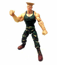 """Sota Toys STREET FIGHTER - GUILE 6"""" video game figure, not boxed"""