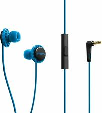 SOL Republic Relays Sport In-Earphones – Noise Isolating,  blue with mic