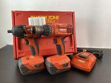 Hilti SIW22-A Clé à chocs & Hilti SF6-A22 sans fil marteau perceuse batterie