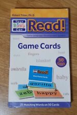 Your Baby Can Read Learn To Read Game Cards 50 Cards Words Memory 25 matching