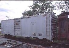 freight car-DG&G 40' PS1 boxcar @ Walkersville Md. Fuji slide