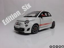 Burago 1:24 Fiat 500 Abarth Italian Model car