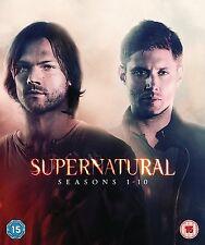 "SUPERNATURAL COMPLETE SEASON 1 2 3 4 5 6 7 8 9 & 10 DVD BOX SET R4 1 - 10 ""sale"""