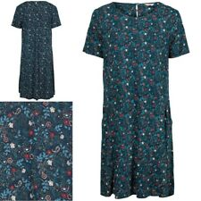NEW RRP £45 Ex Fat Face Simone Evergreen Dress, Navy/Multi
