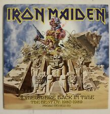 Iron Maiden Somewhere Back In Time Cd Promo Review UK