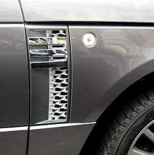 Autobiografía Estilo Side ventilación Rejillas de entrada de aire FR Range Rover L322 paquete de diseño