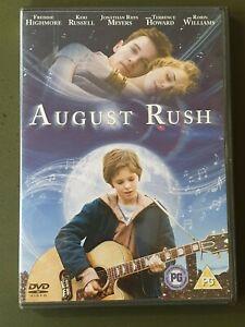 AUGUST RUSH - HIGHMORE/RUSH DVD - as new