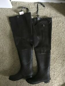 Rubber Hip Boots size 9