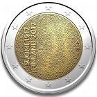 manueduc FINLANDIA 2017 2 Euros 100 AÑOS DE INDEPENDENCIA Conmemorativa UNC