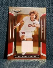 Michelle Akers 2008 Donruss Sports Legends Jersey Material Red Card #33 #d /500