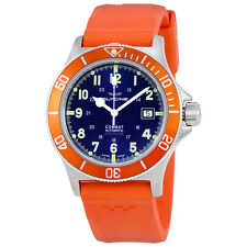 Glycine Combat Sub Automatic Mens Rubber Watch 3908.18AT.O.D6