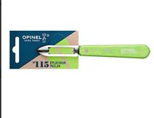 ECONOME OPINEL N 115 VERT POMME EPLUCHEUR LAME 6 CM INOX HETRE CUISINE