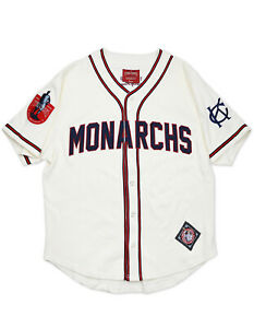KANSAS CITY MONARCHS NEGRO LEAGUE BASEBALL JERSEY Vintage collection Jersey