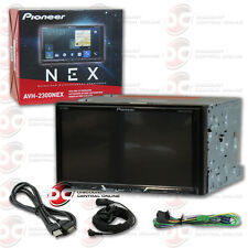 "2018 PIONEER DOUBLE DIN 2DIN 7"" TOUCHSCREEN CAR DVD CD BLUETOOTH APPLE CARPLAY"