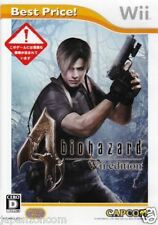 Used Wii Biohazard 4 Edition Best Nintendo JAPAN JP JAPANESE JAPONAIS IMPORT