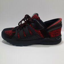 ZEBA Men's Size 11 'Handsfree' Athletic Sneakers Tennis Shoes Obsidian Red
