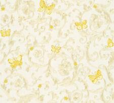 Versace 3 Home Wallpaper 343251 Ornament Schmetterlinge Tapete Designtapete