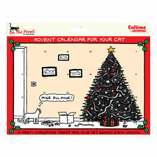 Caltime Animal Calendrier de L'Avent Noël avec Tasty Treats - 419126 Chat