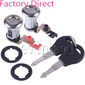 80600-01G25 80601-01G25 Door Lock Set W/Key For Nissan Pickup 1984-98 Pathfinder