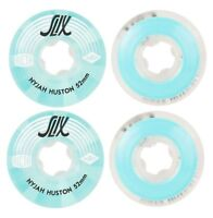 Ricta Skateboard Wheels Crystal Slix Nyjah 52mm Clear 99a FREE POST