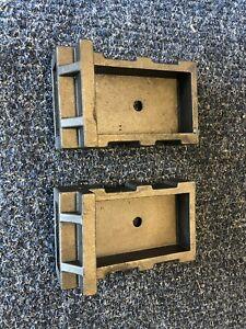 """Live Steam 1 1/2"""" 1.5 Scale Couplers Pocket - 1 pair - Cast Iron"""