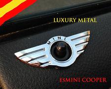 2 X MINI Cooper S logo emblema badge para puerta clubman JCW One R50 R53 R56 R55