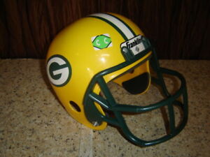 Child Toy Franklin Green Bay Packers Youth Size Football Helmet For Costume   CC