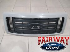 09 thru 14 F-150 OEM Ford 3-Bar Black Mesh with Paintable Surround Grill Grille