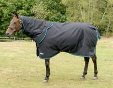 "Shires Tempest Plus 300 gram Turnout 78"" with Matching Neck Cover (Large)"