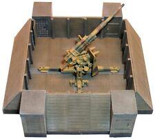 Artmaster 80.085 Holzflakstand für 8,8 cm Flak ohne Flak H0 1:87 Bausatz Resin