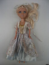 Doll with clothes: ballroom princess dress pale blue gold. Unsure type,My Scene?