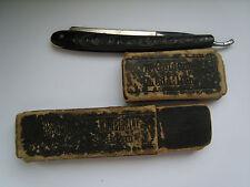 Vintage straight razor Pollart Solingen engraved 10 goldene Medaillen Germany