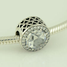 Clear Cz - 791725Cz Genuine Authentic Pandora Radiant Hearts,