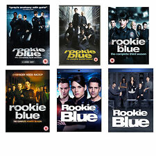 Rookie Blue Season Series 1, 2, 3, 4, 5 & 6 (the Finale season) DVD Box Set New